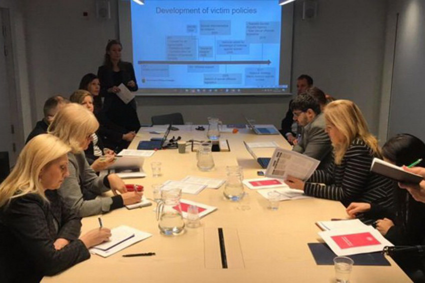 Introduction to the Swedish model of support for victims